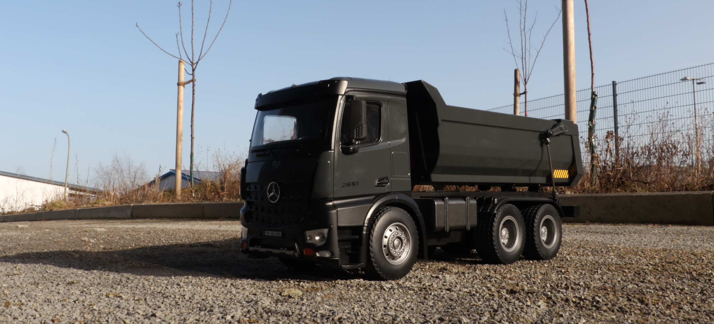 Mercedes-Benz Arocs LKW Kipper - 22504