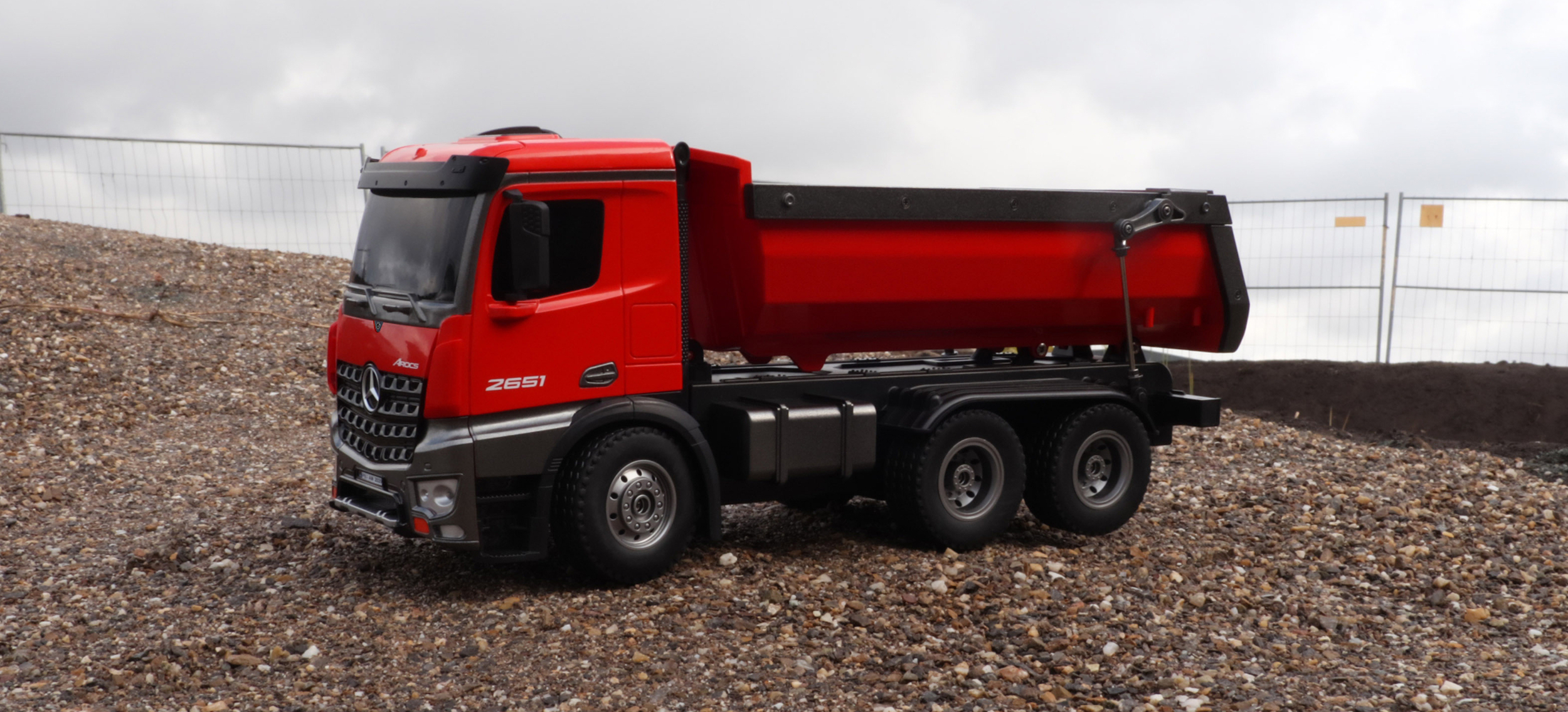 Mercedes-Benz Arocs LKW Kipper - 22407
