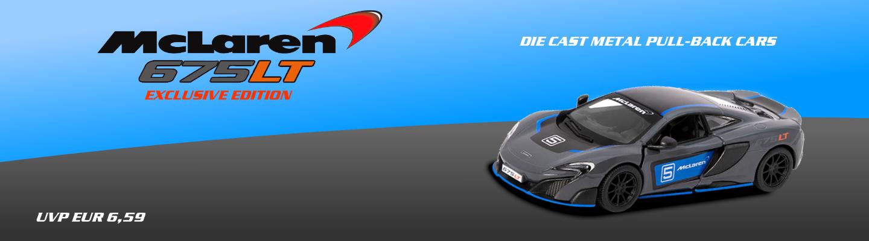 Die Cast McLaren 675LT Lizenzmodell